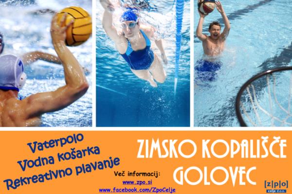 Vaterpolo, vodna košarka, rekreativno plavanje