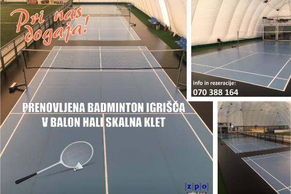 Povabite prijatelja ali partnerja na partijo badmintona!