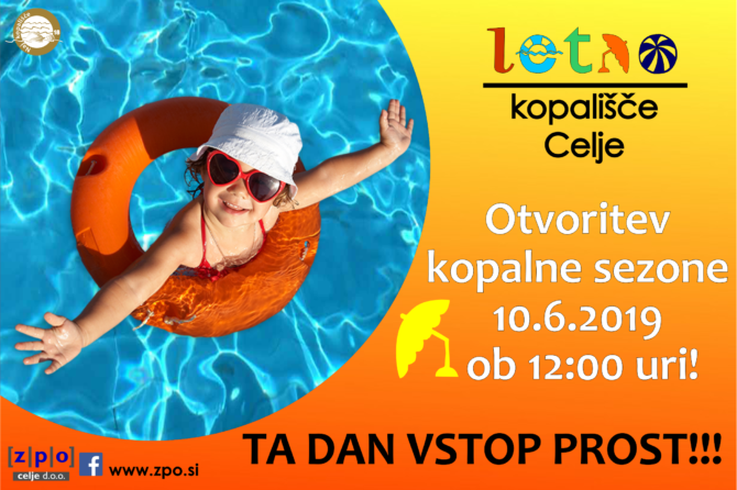 V ponedeljek bomo lahko brezplačno čofotali na Letnem bazenu…