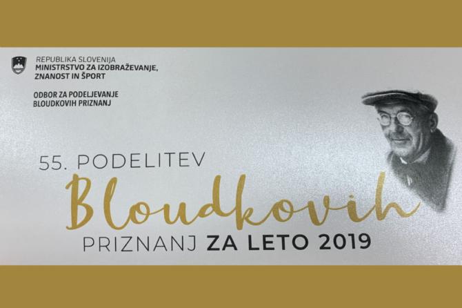 Prvi mož ZPO Celje d.o.o. prejel Bloudkovo plaketo.