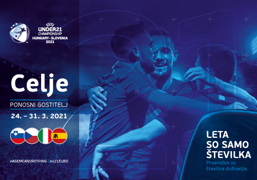 Celje in Stadion Z`Dežele bo konec marca gostitelj Evropskega nogometnega prvenstva U21