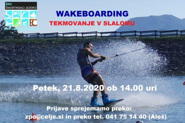 Ste za slalom na Šmartinskem jezeru?