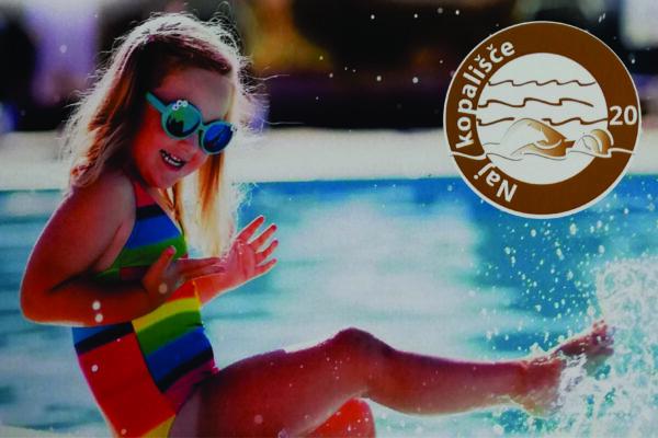 Letno kopališče Celje je ponovno osvojilo 1. mesto!